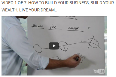 Video 1 Of 7:How to Build Your Business, Build Your Wealth, Live Your Dream