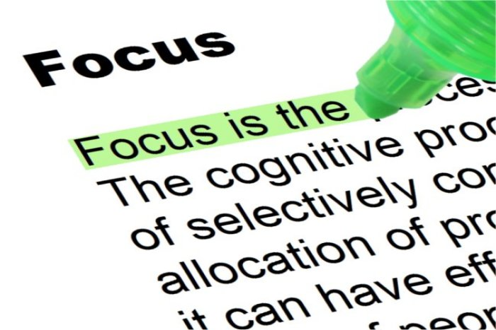 4 steps to becoming more focus