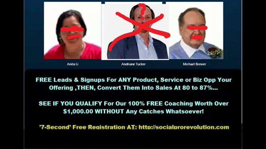 Social pro-revolution Dave D. Williamson Scam