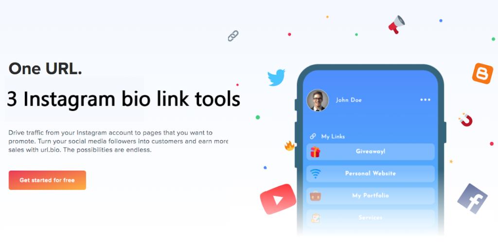 Top 3 Instagram bio link tools