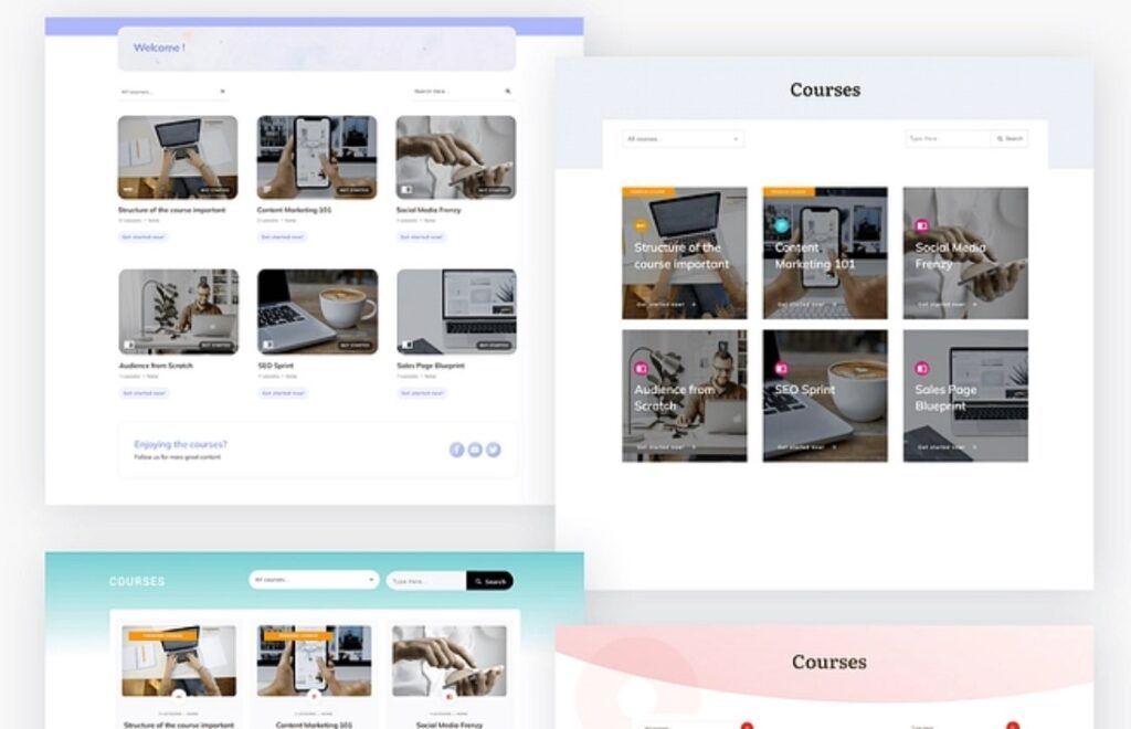 Thrive sute new themes